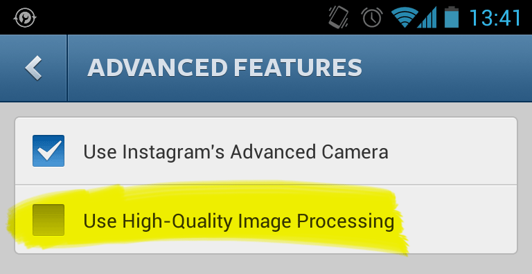 Instagram is completely smashing my pictures - FIXED